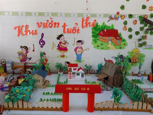 Mô hình quê em Trinh