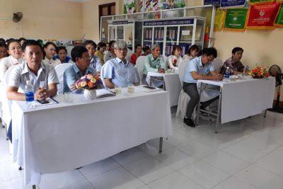 Trường MN Bình Minh tổ chức Hội nghị CBVC năm học 2020-2021