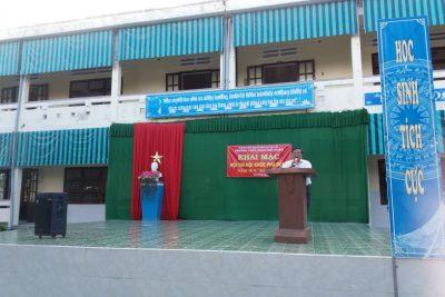 Trường THCS Phan Bội Châu tổ chức Hội khỏe Phù Đổng trường  năm học 2019- 2020