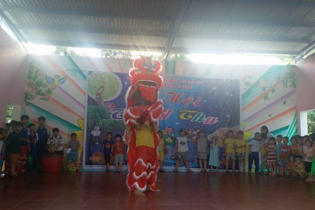 Trường Mầm non Đại Hiệp tổ chức vui hội Trung thu