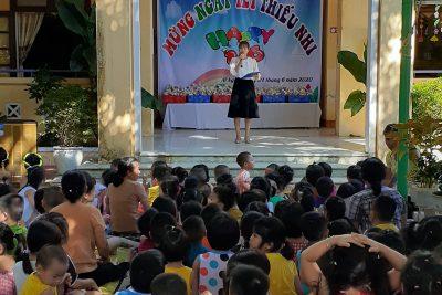 """Trường MN Bình Minh tổ chức """"Mừng ngày Tết thiếu nhi 01/6/2020"""""""