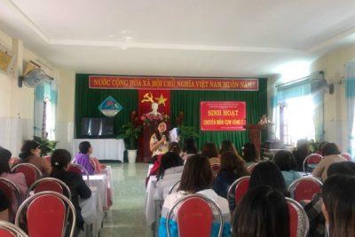 Cụm chuyên môn vùng C tổ chức chuyên đề giáo dục lấy trẻ làm trung tâm