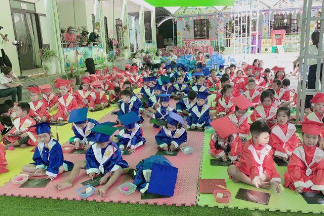 """Trường Mẫu giáo Đại Hưng tổ chức Hội thi """"Rung chông vàng"""" dành cho các bé khối lớp 4-5 tuổi và 5-6 tuổi năm học 2020-2021."""