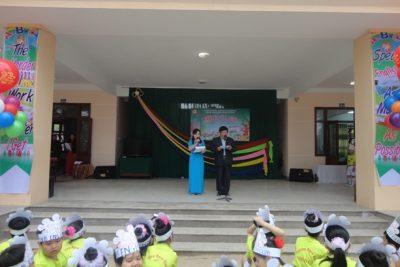 Trường tiểu học Nguyễn Ngọc Bình điểm đến của việc dạy học môn tiếng Anh.