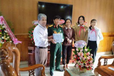 Trường THCS Trần Phú hoạt động chào mừng ngày Quân đội Nhân dân Việt Nam (22/12/1944-22/12/2020)