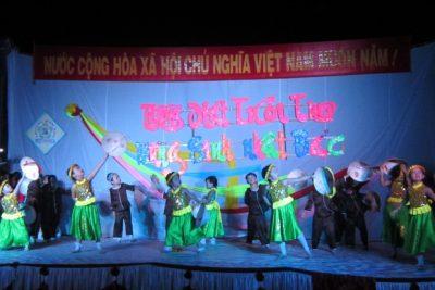 """Trường Mầm non Đại Phong tổ chức đêm văn nghệ với chủ đề  """"Tiếng hát tuổi thơ – Mừng sinh nhật Bác"""""""