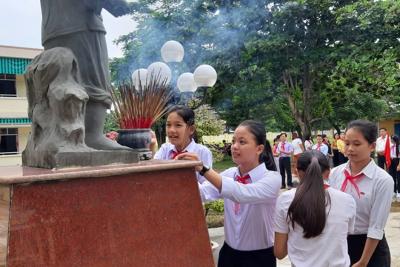 TRƯỜNG THCS KIM ĐỒNG TỔ CHỨC ĐẠI HỘI LIÊN ĐỘI NĂM HỌC 2019-2020
