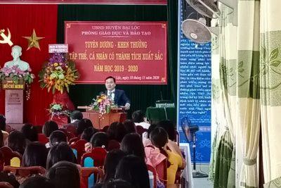 Kỷ niệm 38 năm Ngày Nhà giáo Việt Nam (20/11/1982-20/11/2020) và Tuyên dương khen thưởng tập thể, cá nhân có thành tích xuất sắc năm học 2019-2020