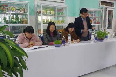 Sở Giáo dục và Đào tạo Quảng Nam kiểm tra trường chuẩn quốc gia mức độ 2 và KĐCLGD cấp độ 3 tại Trường MN Đại Thắng