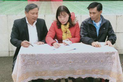 """Trường THCS Phan Bội Châu phát động xây dựng """"Trường học hạnh phúc"""" năm học 2020-2021"""